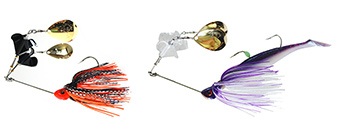 TwinBuzz fishing lures