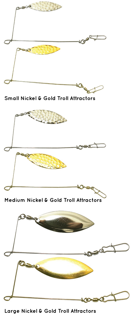 Troll Attractors fishing lures