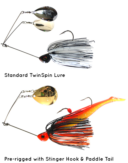 TwinSpin Lures