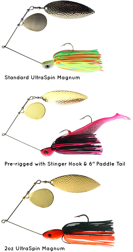 UltraSpin Magnum fishing lures