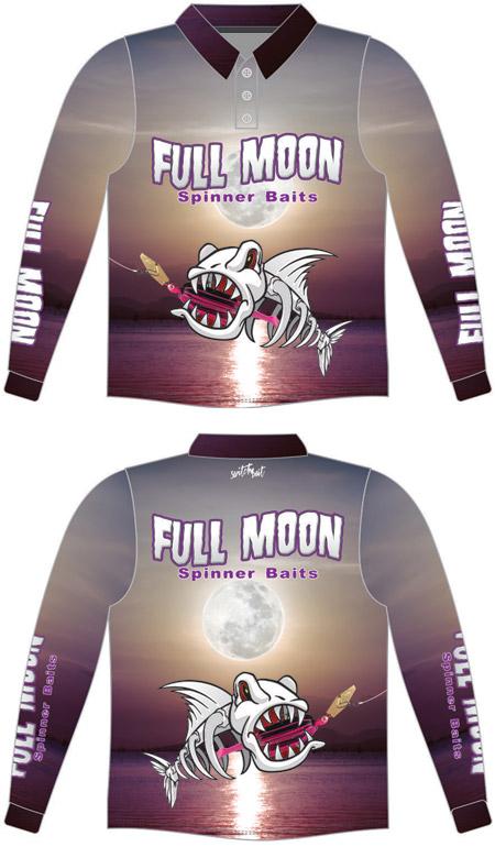 Full Moon Spinner Baits Shirt